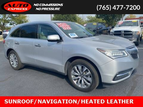 2014 Acura MDX for sale at Auto Express in Lafayette IN