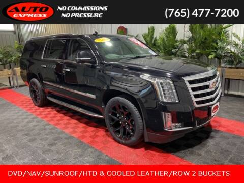 2017 Cadillac Escalade ESV for sale at Auto Express in Lafayette IN