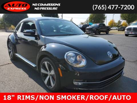 2012 Volkswagen Beetle for sale at Auto Express in Lafayette IN