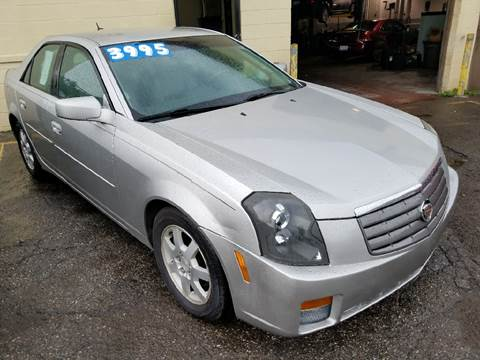 2005 cadillac cts for sale in michigan. Black Bedroom Furniture Sets. Home Design Ideas