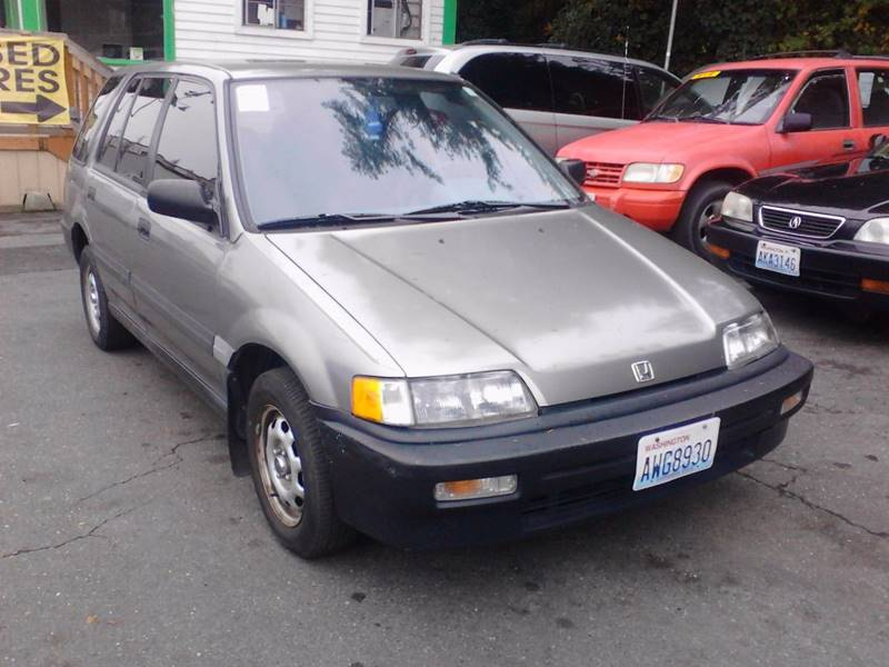 1990 Honda Civic 4dr Wagon In Shoreline Wa Delgri Auto Sales