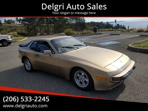 1985 Porsche 944 for sale in Shoreline, WA