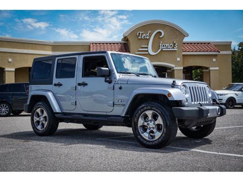 2018 Jeep Wrangler JK Unlimited for sale in Pensacola, FL