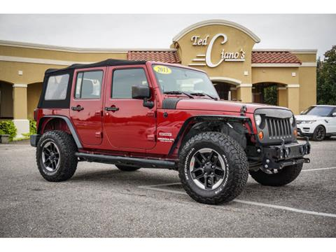 2013 Jeep Wrangler Unlimited for sale in Pensacola, FL