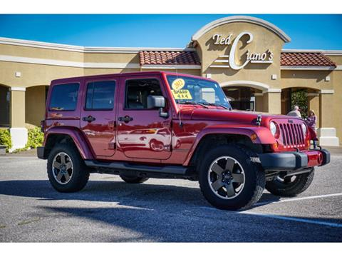2012 Jeep Wrangler Unlimited for sale in Pensacola, FL