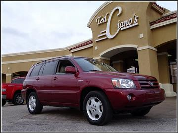 2005 Toyota Highlander for sale in Pensacola, FL