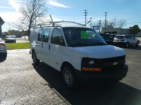 2003 Chevrolet Express Cargo for sale at Van Kalker Motors in Grand Rapids MI