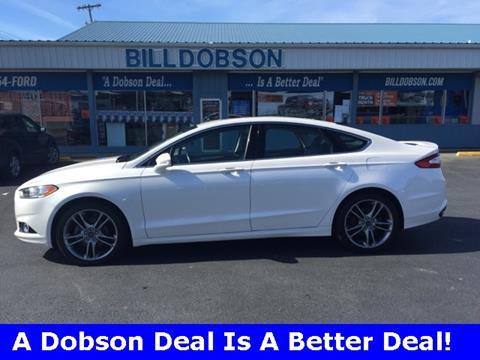 2015 Ford Fusion for sale in Washington, IN
