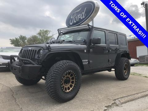 2010 Jeep Wrangler Unlimited for sale in Washington, IN