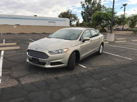 2015 Ford Fusion for sale at AKOI Motors in Tempe AZ