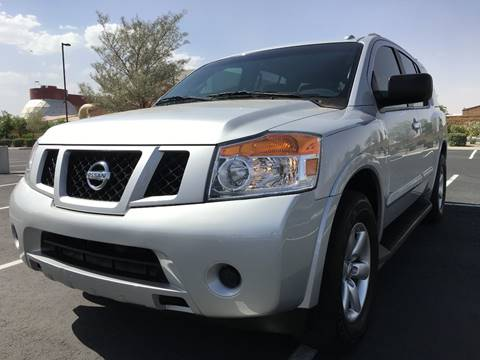 2013 Nissan Armada for sale at AKOI Motors in Tempe AZ