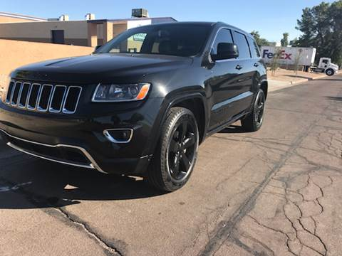 2015 Jeep Grand Cherokee for sale at AKOI Motors in Tempe AZ