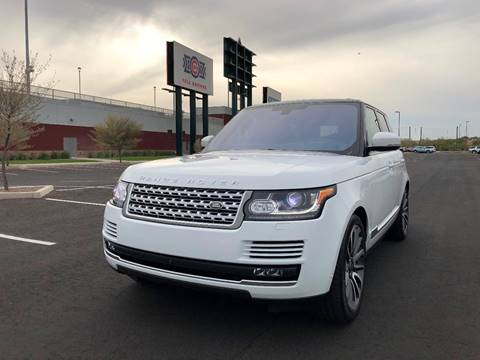 2016 Land Rover Range Rover for sale at AKOI Motors in Tempe AZ