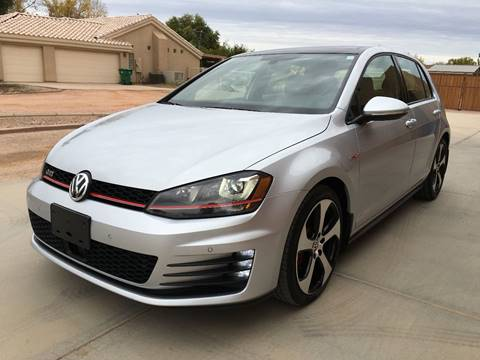 2015 Volkswagen Golf GTI for sale at AKOI Motors in Tempe AZ
