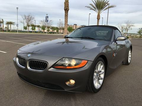 2004 BMW Z4 for sale at AKOI Motors in Tempe AZ