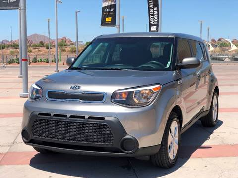 2016 Kia Soul for sale at AKOI Motors in Tempe AZ