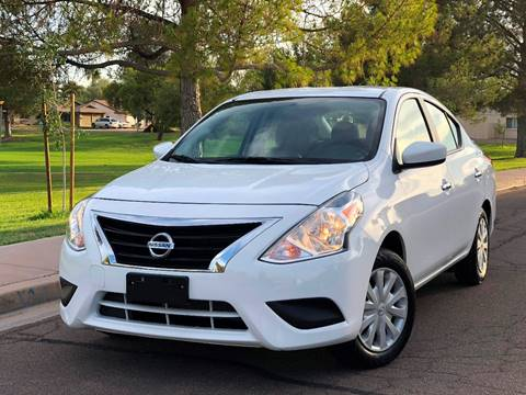 2018 Nissan Versa for sale at AKOI Motors in Tempe AZ