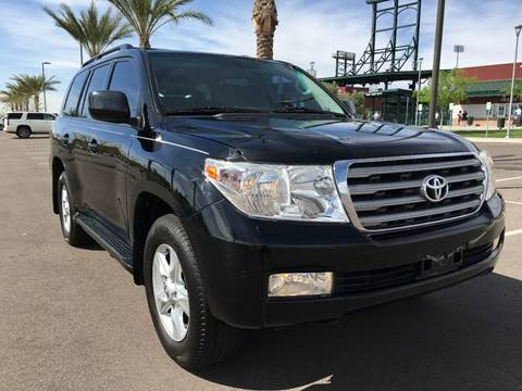 2009 Toyota Land Cruiser for sale at AKOI Motors in Tempe AZ