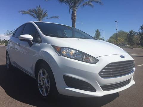 2014 Ford Fiesta for sale at AKOI Motors in Tempe AZ