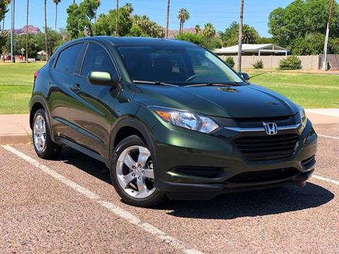 2017 Honda HR-V for sale at AKOI Motors in Tempe AZ