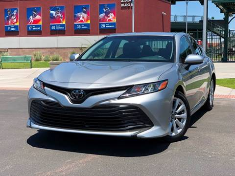 2018 Toyota Camry for sale at AKOI Motors in Tempe AZ
