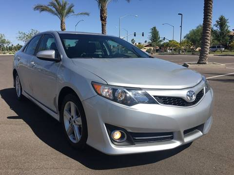 2014 Toyota Camry for sale at AKOI Motors in Tempe AZ