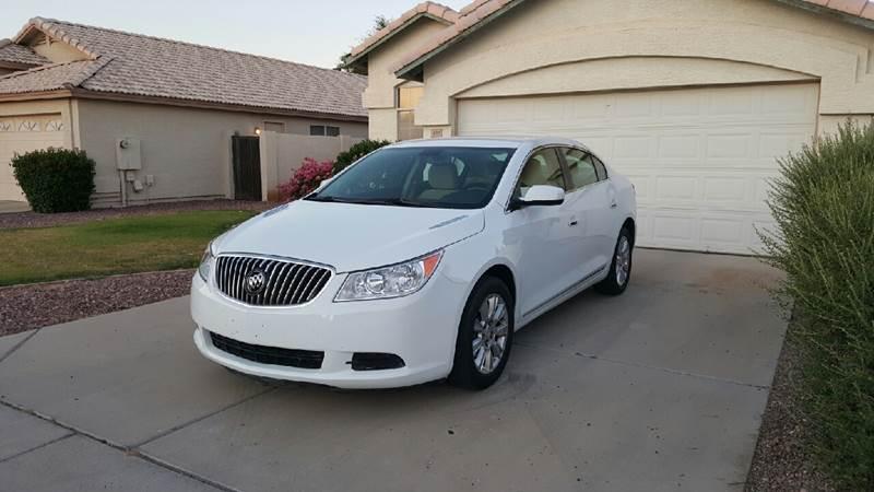 2013 Buick LaCrosse for sale at AKOI Motors in Tempe AZ
