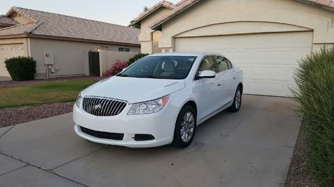 2013 Buick LaCrosse for sale at AKOI Motors in Tempe AZ