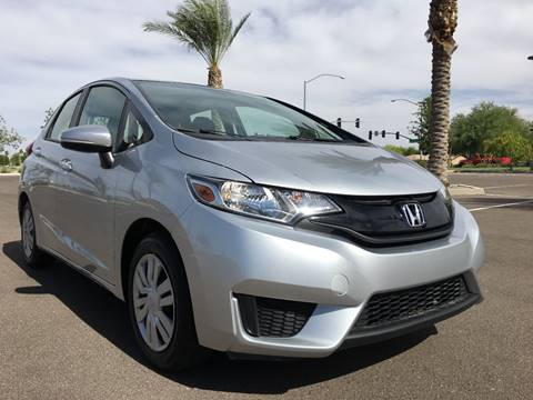 2016 Honda Fit for sale at AKOI Motors in Tempe AZ