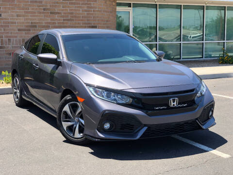 2016 Honda Civic for sale at AKOI Motors in Tempe AZ