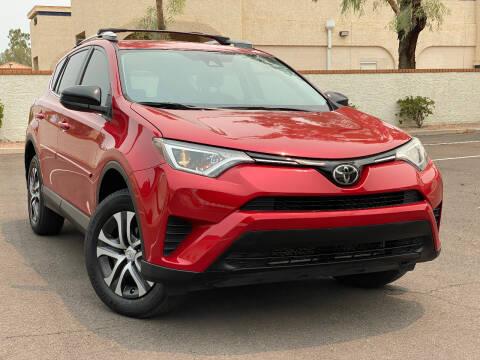 2017 Toyota RAV4 for sale at AKOI Motors in Tempe AZ