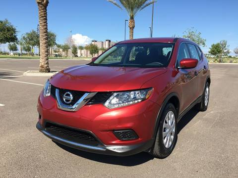 2016 Nissan Rogue for sale at AKOI Motors in Tempe AZ