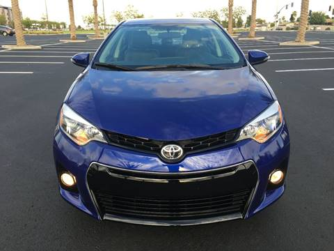 2014 Toyota Corolla for sale at AKOI Motors in Tempe AZ