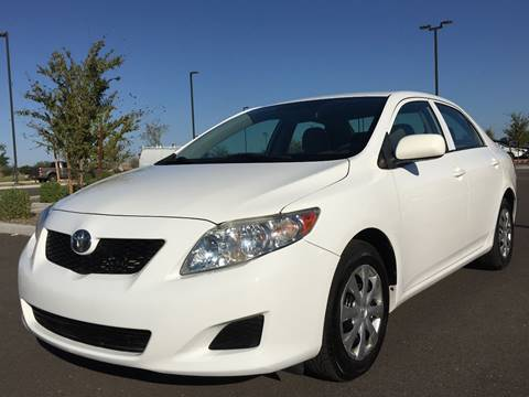 2009 Toyota Corolla for sale at AKOI Motors in Tempe AZ