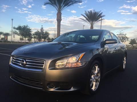 2014 Nissan Maxima for sale at AKOI Motors in Tempe AZ