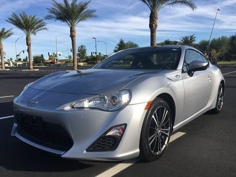 2016 Scion FR-S for sale at AKOI Motors in Tempe AZ
