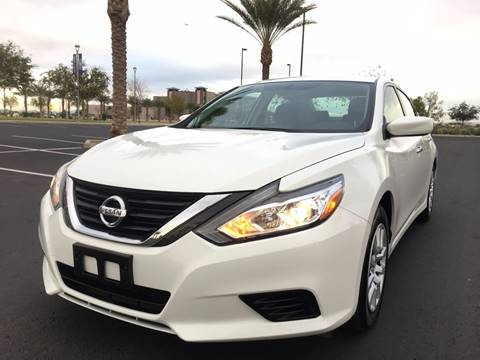 2016 Nissan Altima for sale at AKOI Motors in Tempe AZ
