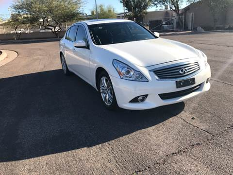 2012 Infiniti G25 Sedan for sale at AKOI Motors in Tempe AZ