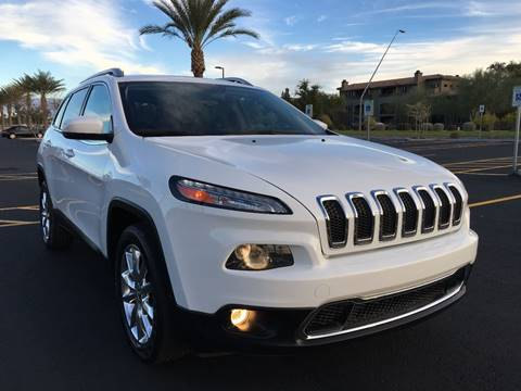 2014 Jeep Cherokee for sale in Mesa, AZ