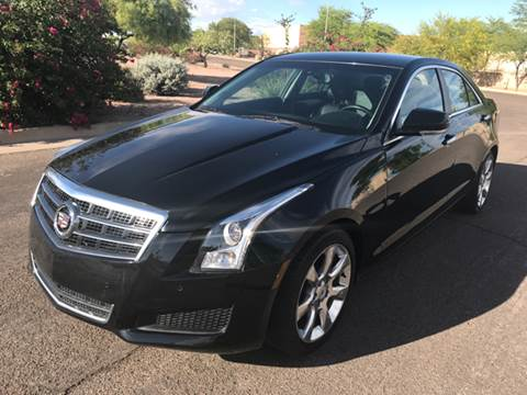 2013 Cadillac ATS for sale at AKOI Motors in Tempe AZ