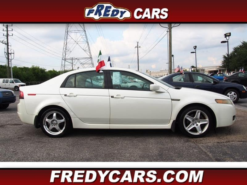 Acura TL In Houston TX FREDY USED CAR SALES - 2004 acura tl used for sale
