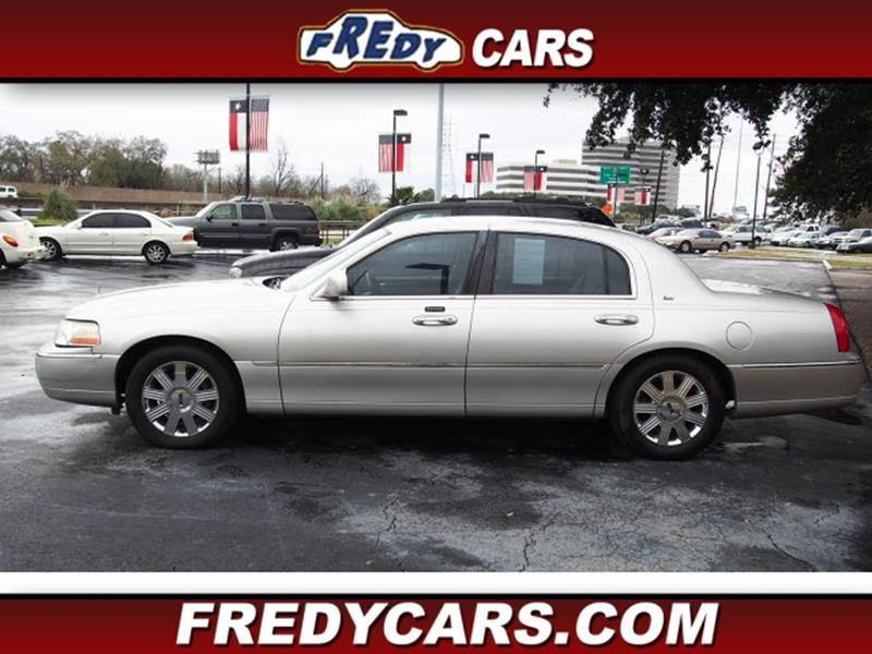 2003 Lincoln Town Car Cartier In Houston Tx Fredy Used Car Sales