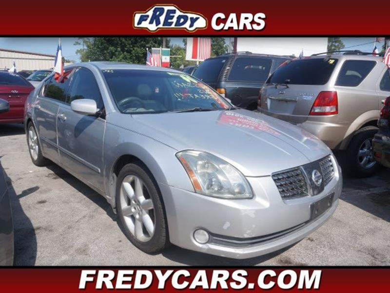 Used Cars For Sale Houston Texas Robbins Nissan: 2004 Nissan Maxima 3.5 SE In Houston TX
