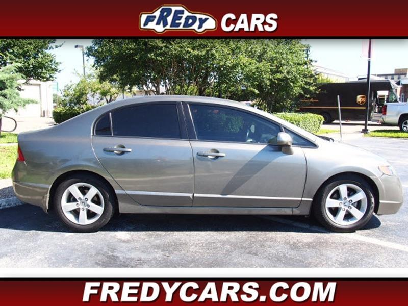 2008 Honda Civic Ex L In Houston Tx Fredy Used Car Sales