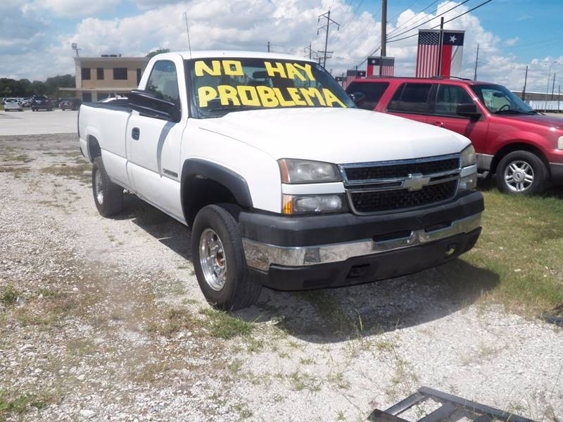 2007 chevrolet silverado 2500hd classic ls in houston tx fredy used. Cars Review. Best American Auto & Cars Review