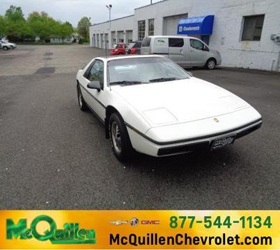1985 Pontiac Fiero for sale in Girard, PA
