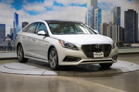 2017 Hyundai Sonata Hybrid for sale in Lake Bluff, IL