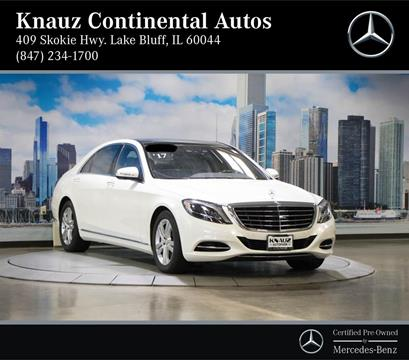 2017 Mercedes-Benz S-Class for sale in Lake Bluff, IL