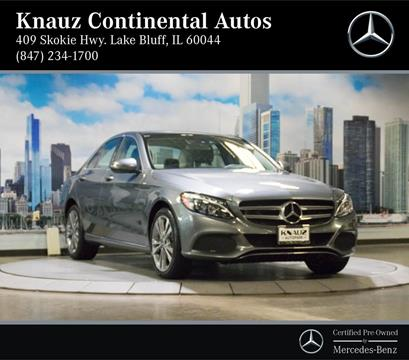2017 Mercedes-Benz C-Class for sale in Lake Bluff, IL