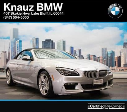 2016 BMW 6 Series for sale in Lake Bluff IL
